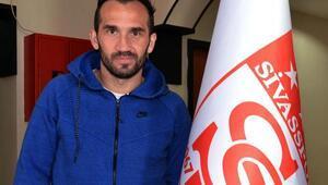 Sivassporda Gekas sezonu kapattı