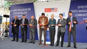 İslahiyede, ABD desteğiyle yapılan katı atık tesisi açıldı