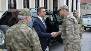 Orgeneral Çolak Boluda askeri birlikleri denetledi
