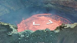 Google yanardağın resmen içine daldı