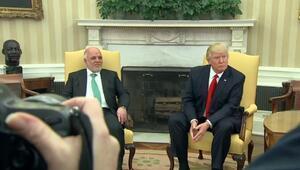 Trump ve İbadi Beyaz Sarayda görüştü