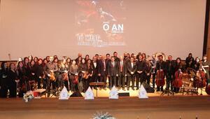 CÜde Çanakkale konseri
