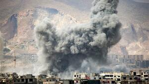 Esada Şamda büyük şok Sabaha karşı başladı...