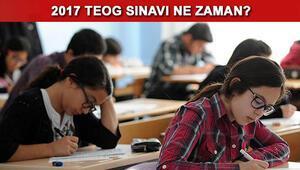 TEOG sınavı ne zaman yapılacak 2017 TEOG hangi gün yapılacak
