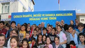 İBB Başkanı Topbaş Çatalcada: Bizim de yetkilerimiz arttırılırsa daha memnun oluruz