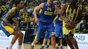 Fenerbahçe - Maccabi Fox maçının fotoğrafları