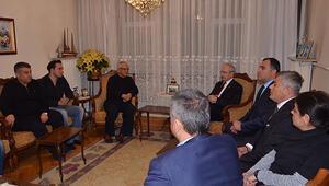 Kılıçdaroğlu'ndan Tayfun Talipoğlu'nun evine taziye ziyareti