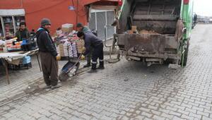 Başkale Belediyesi 2 ayda bin 200 ton çöp topladı