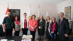 Kadın Partisinden İGCye ziyaret