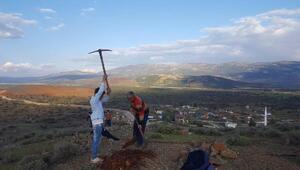 Sınırda sözde PKK bayrağı krizi