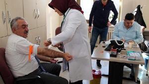 Melikgazi çalışanlarına sağlık taraması