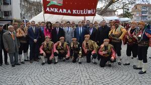 Çubukta Kırgız ve Özbekli renkli Nevruz etkinliği / Ek fotoğraf