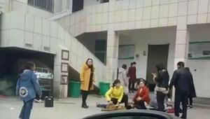 Çinde okulda çıkan izdihamda 2 çocuk öldü