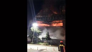 Osmanlı camisi yandı... Korkunç şüphe