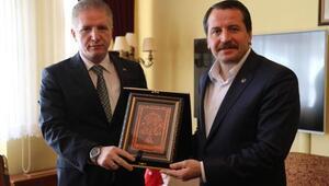 Memur-Sen Genel Başkanı Yalçın, Vali Gülü ziyaret etti