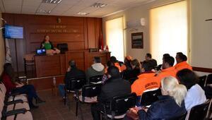 Gelibolu Belediyesi personeline ilk yardım eğitimi verildi