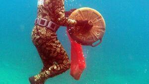 Turgutreiste deniz dibi temizliği