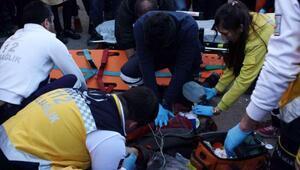 Zonguldakta otomobil yayalara çarptı: 1 ölü, 1 yaralı