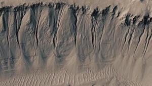 Mars'ın manzarası
