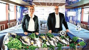 Markette pişmiş balık dönemi