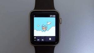 Apple Watchta Gameboy oynamak isteyen