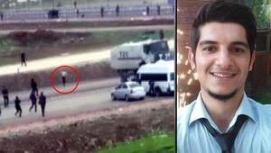 Vurulma anının görüntüleri ortaya çıktı... Soruşturma başlatıldı