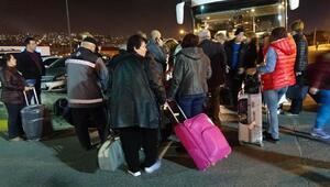 Komşuya seçim akını;otobüslerle Bulgaristana gittiler