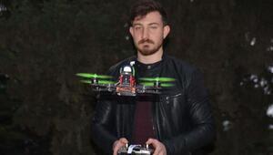 Kendi ürettiği drone ile liderliği kaptı