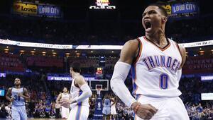 Westbrooktan NBA tarihine geçen triple double