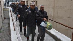 Bursada gözaltına alınan 22 PKK şüphelisi adliyede