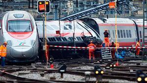 İsviçre'de tren kazası: 7 yaralı