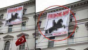 Son dakika: Türkiyeden o pankarta çok sert tepki