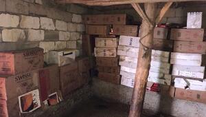 Başkalede 71 bin paket kaçak sigara ele geçirildi