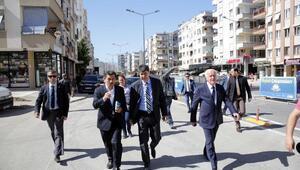 Başkan Türel, Tonguç Caddesini inceledi