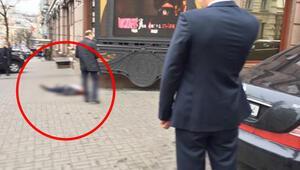 Kievde silahlı saldırı