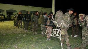 Rakka yakınlarına havadan indirilen ABD askerleri ve YPGlilerin fotoğrafları yayınlandı