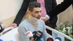 Hollandada polisin köpekle yaraladığı Türk tedavi için İstanbulda (2)