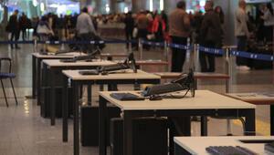 Yer: İstanbul Atatürk Havalimanı... Hazırlıklar başladı