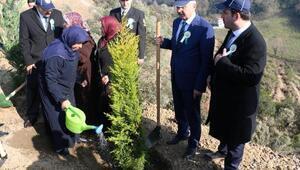 Ereğlide 15 Temmuz Şehitleri Hatıra Ormanı oluşturuldu