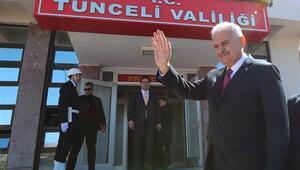 Başbakan Yıldırımı CHPli milletvekili karşıladı