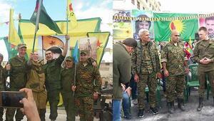 Bakan Işıktan Rus askerinin YPG arması takmasına tepki geldi