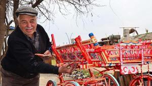 Minyatür at arabaları turistik tesisleri süslüyor