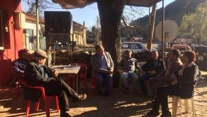 CHPli Sertel Ödemişin köylerinden hayır istedi