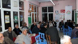 Akçapınar Köyünde üreticilere TUTA'nın zararları anlatıldı