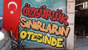 Seyhanda grafiti sergisi