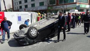 İstanbulda akılalmaz kaza Görgü tanığı dehşeti anlattı: Takla atmasaydı 30 kişi gitmişti