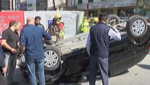İstanbul Şişlide akılalmaz kaza