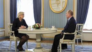 Putin aşırı sağcı Fransız aday Le Penle görüştü
