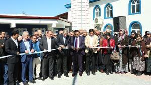 Canik'te Kozlu Cami'nin çevre düzenlenmesi tamamlandı