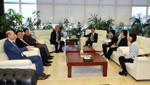 Çin büyükelçisi'nden Rektör Bilgiçe ziyaret